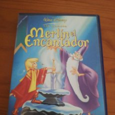 Cine: DVD MERLIN EL ENCANTADOR DE DISNEY. Lote 162772554