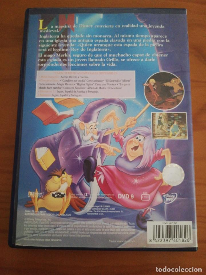 Cine: DVD merlin el encantador de disney - Foto 2 - 162772554