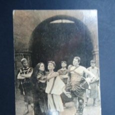 Cine: FABIOLA O LOS MARTIRES CRISTIANOS 1929 CINE MUDO POSTAL PUBLICIDAD CHOCOLATES AMATLLER BARCELONA BI. Lote 162778638