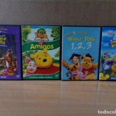 Cine: LOTE 003 DE 4 DVD DE WINNIE THE POOH. Lote 162791682