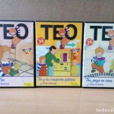 Cine: LOTE DE 3 DVD DE TEO. Lote 162791962