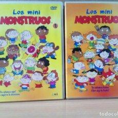 Cine: LOTE DE 2 DVD DE LOS MINIMONSTRUOS. Lote 162795414