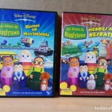 Cine: LOTE DE 2 DVD LOS HEROES DE HIGGLYTOWN. Lote 162795950