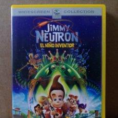 Cine: LOTE DE 3 DVD DE JIMMY NEUTRON. Lote 162801498