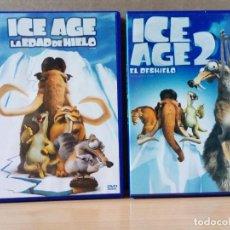 Cine: LOTE DE 2 DVD DE LA SAGA ICE AGE. Lote 162802862