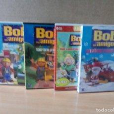 Cine: LOTE DE 4 DVD DE BOB Y AMIGOS. Lote 162804018