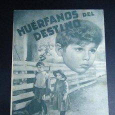 Cine: HUERFANOS DEL DESTINO 1940, ELEANORE WHITNEY TOM KEENEDOBLE PIE ULTRA BARCELONA . Lote 162919502
