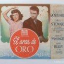 Cine: PROGRAMA DOBLE. EL ARCA DE ORO. C/P. Lote 162961590
