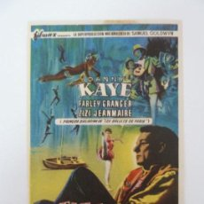 Folhetos de mão de filmes antigos de cinema: PROGRAMA. EL FABULOSO ANDERSEN. S/P. Lote 163021242