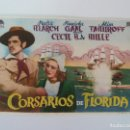Cine: PROGRAMA. CORSARIOS DE FLORIDA. S/P. Lote 163024670