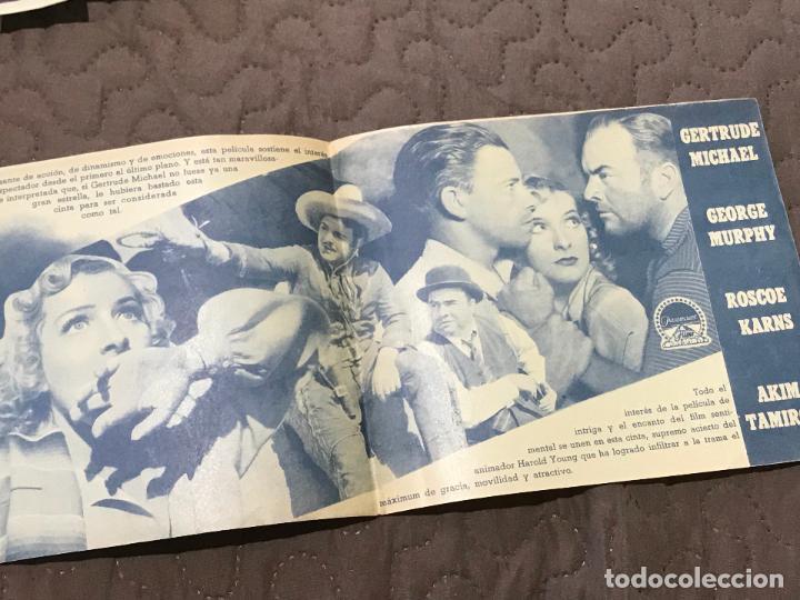 Cine: COGIDO EN LA TRAMPA, DOBLE 1940, GERTRUDE MICHAEL GEORGE MURPHY, SIN PUBLICIDAD - Foto 2 - 163122594