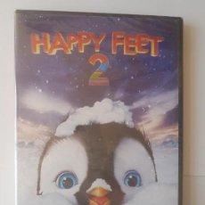 Cine: DVD HAPPY FEET 2 PRECINTADO NUEVO A ESTRENAR. Lote 163424878