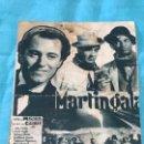 Cine: PROGRAMA DE CINE MARTINGALA CON PUBLICIDAD. Lote 163480890