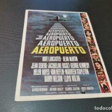 Cinema - PROGRAMA DE MANO ORIG - AEROPUERTO - SIN CINE - 163613986