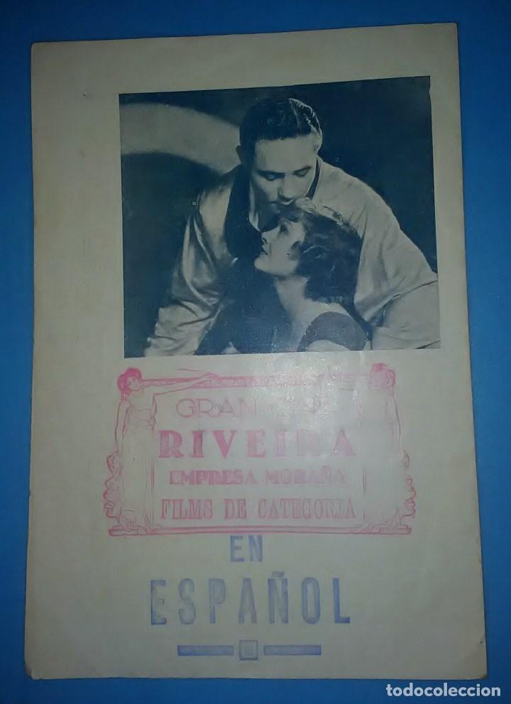 Cine: IDOLO DE LAS MUJERES PROGRAMA DOBLE MGM MYRNA LOY MAX BAER PRIMO CARNERA JACK DEMPSEY - Foto 2 - 163703942