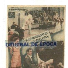 Cine: (PG-190467)PROGRAMA DE CINE EL REFUGIO - CINEMA ZORRILLA - AÑO 1936. Lote 163757554