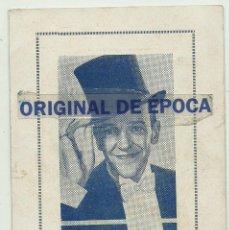 Cine: (PG-190462)PROGRAMA DE CINE ALMA DE BAILARINA - CINE NOU - AÑO 1936. Lote 163759294