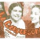 Cine: PROGRAMA DE CINE CARTULINA LA MARQUESONA . CIFESA .PASTORA IMPERIO Y LUCHY SOTO. Lote 163781394