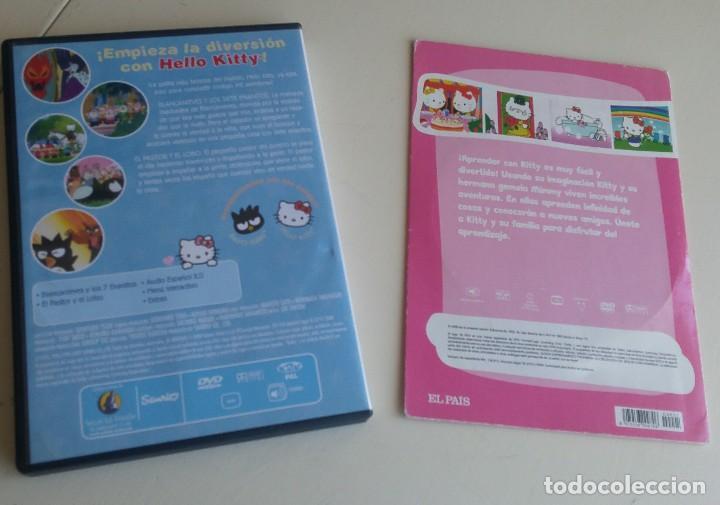 Cine: Hello Kity. 2 DVDs: Hello Kittys Paradise /Hello Kitty y sus amigos: Blancanieves y los 7 enanitos - Foto 2 - 163788154