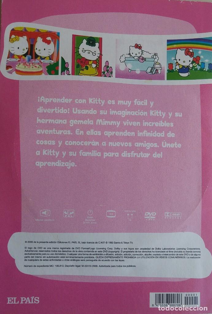 Cine: Hello Kity. 2 DVDs: Hello Kittys Paradise /Hello Kitty y sus amigos: Blancanieves y los 7 enanitos - Foto 4 - 163788154