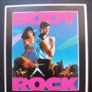 Cine: BODY ROCK, LORENZO LAMAS. Lote 163835298