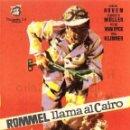 Cine: ROMME LLAMA AL CAIRO PROGRAMA DE MANO ORIGINAL CON PUBLICIDAD POR DETRÁS. Lote 163890090