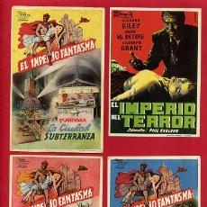 Cine: LOTE DE 120 PROGRAMAS DE CINE ANTIGUOS , SIN CINE EN EL REVERSO , VER FOTOS , ORIGINALES , L41. Lote 163954850