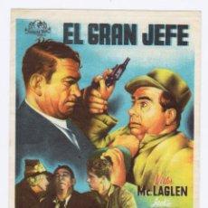 Cine: PROGRAMA AÑO 1946. TEATRO PRINCIPAL ALCOY. Lote 163996410