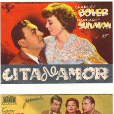 Cine: PROGRAMAS DOBLES AÑO 1944. TEATRO CALDERÓN. ALCOY. Lote 163997954