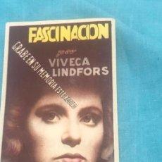 Cine: FASCINACIÓN - VIVECA LINDFORS - CON PUBLICIDAD. Lote 164612770