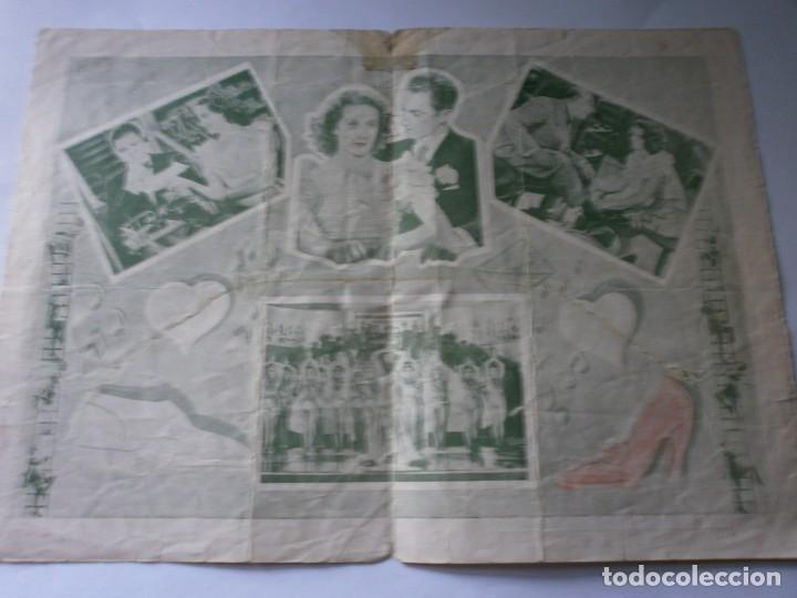 Cine: PROGRAMA DOBLE - DEDÉ - ALBERT PREJEAN, DANNIELLE DARRIEUX - IDEAL CINEMA - 1935. - Foto 2 - 164683890