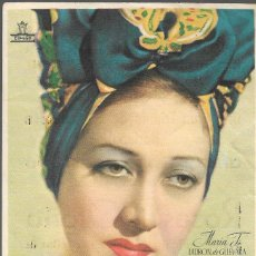 Foglietti di film di film antichi di cinema: PROGRAMA DE CINE - ROSAS DE OTOÑO - MARIA FERNANDA LADRÓN DE GUEVARA - COLISEO OLYMPIA - 1943.. Lote 164784446