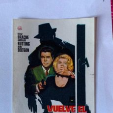 Cinema - FOLLETO DE MANO VUELVE EL BRUJO. SIN PUBLICIDAD. - 164827046