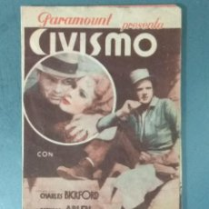 Cine: SU PRIMER BESO - PROGRAMA DE MANO DOBLE. Lote 164843330