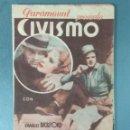 Cine: CIVISMO - 1934 - PROGRAMA DE MANO DOBLE. Lote 164843742