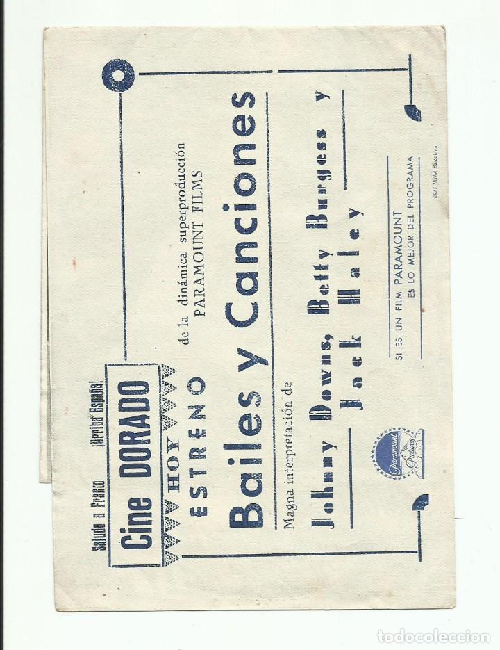 Cine: Programa Original Cine doble BAILES Y CANCIONES Paramount - Foto 3 - 164860618