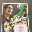 Cine: PROGRAMA DE CINE. PUEBLERINA CON PUBLICIDAD. Lote 164889838