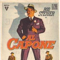 Cine: AL CAPONE CP CINE COLISEUM DE SANTANDER. Lote 164943086