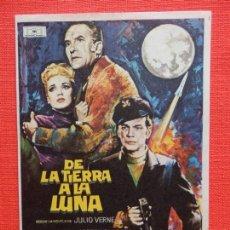 Cine: DE LA TIERRA A LA LUNA, IMPECABLE SENCILLO, JOSEPH COTTEN, CON PUBLI CAPITOL. Lote 165012610