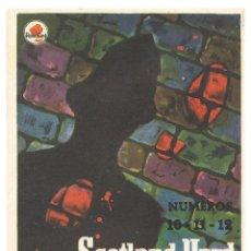 Cine: PTCC 038 SCOTLAND YARD PROGRAMA SENCILLO ROSA MONTGOMERY TULLY EPISODIOS 10-11-12. Lote 165181302