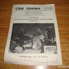 Cine: (ALB-TC-90) RARO FOLLETO DE MANO CONTINUABAN LLAMANDOLE EL GATO CON BOTAS CINE FEMINA LERIDA. Lote 165353762