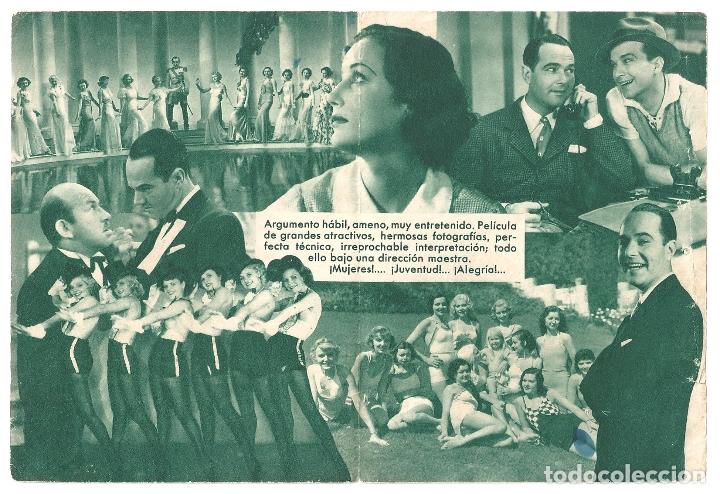 Cine: PTEB 061 ASI ES HOLLYWOOD PROGRAMA DOBLE MARRON EXCLUSIVAS DIANA WILLIAM HAINES - Foto 2 - 165518914