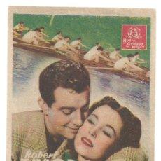 Cine: PTEB 062 UN YANQUI EN OXFORD PROGRAMA TARJETA MGM ROBERT TAYLOR MAUREEN O'SULLIVAN. Lote 165523574