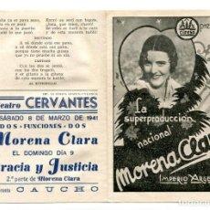 Cine: MORENA CLARA, CON IMPERIO ARGENTINA.. Lote 165578114