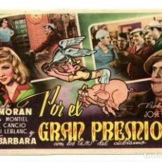 Cine: POR EL GRAN PREMIO, CON SARA MONTIEL. S/I.. Lote 165586094