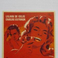 Cine: FOLLETO DE CINE, JURAME, AÑOS 60, SIN PUBLICIDAD . Lote 165672578