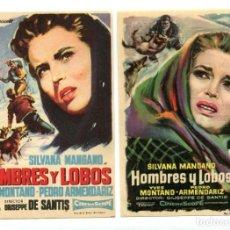 Cine: HOMBRES Y LOBOS, CON SILVANA MANGANO.. Lote 165732510