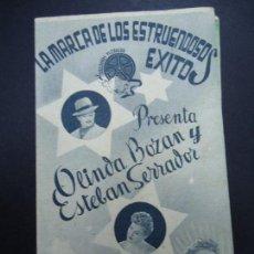 Cine: DAMA DE COMPAÑÍA 1943 DELIA GARCES, ELSA O`CONNOR DOBLE BIEN CONSERVADO VER FOTOS . Lote 165748306