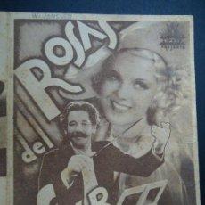Cine: ROSAS DEL SUR 1934 DE PAUL HÖRBIGER PUBLICIDAD TEATRO CÍRCULO DOBLE CIFESA ILUSTRADO POR PERIS A. Lote 165772566