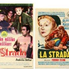 Cine: LA STRADA, CON GIULIETTA MASINA.. Lote 165772846